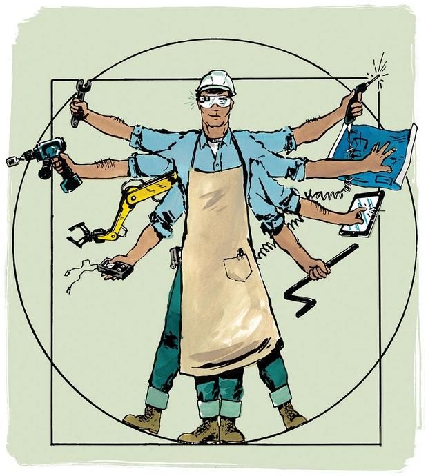 Illustration by Al VanDeusen, chicagobusiness.com