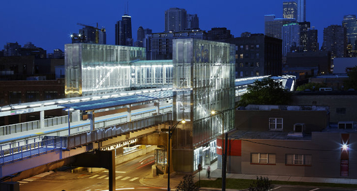 The Morgan Street station helped boost property values and transform the neighborhood