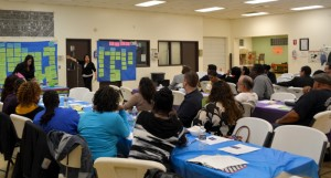 Commercial Avenue vision meeting in South Chicago.