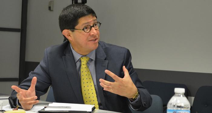 Ecuador Minister of International Trade Diego Aulestia.