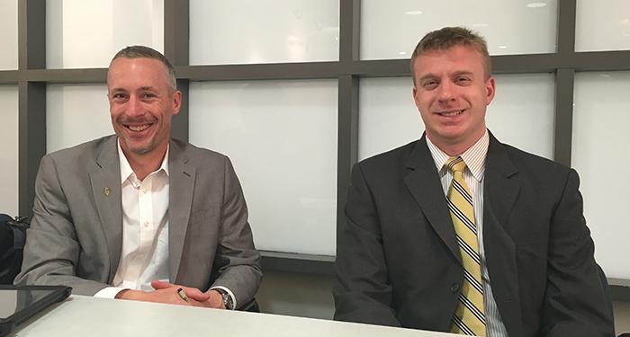 David J. Thomson, RTCA Midwest Program Manager and Michael Mencarini , RTCA Community Planner