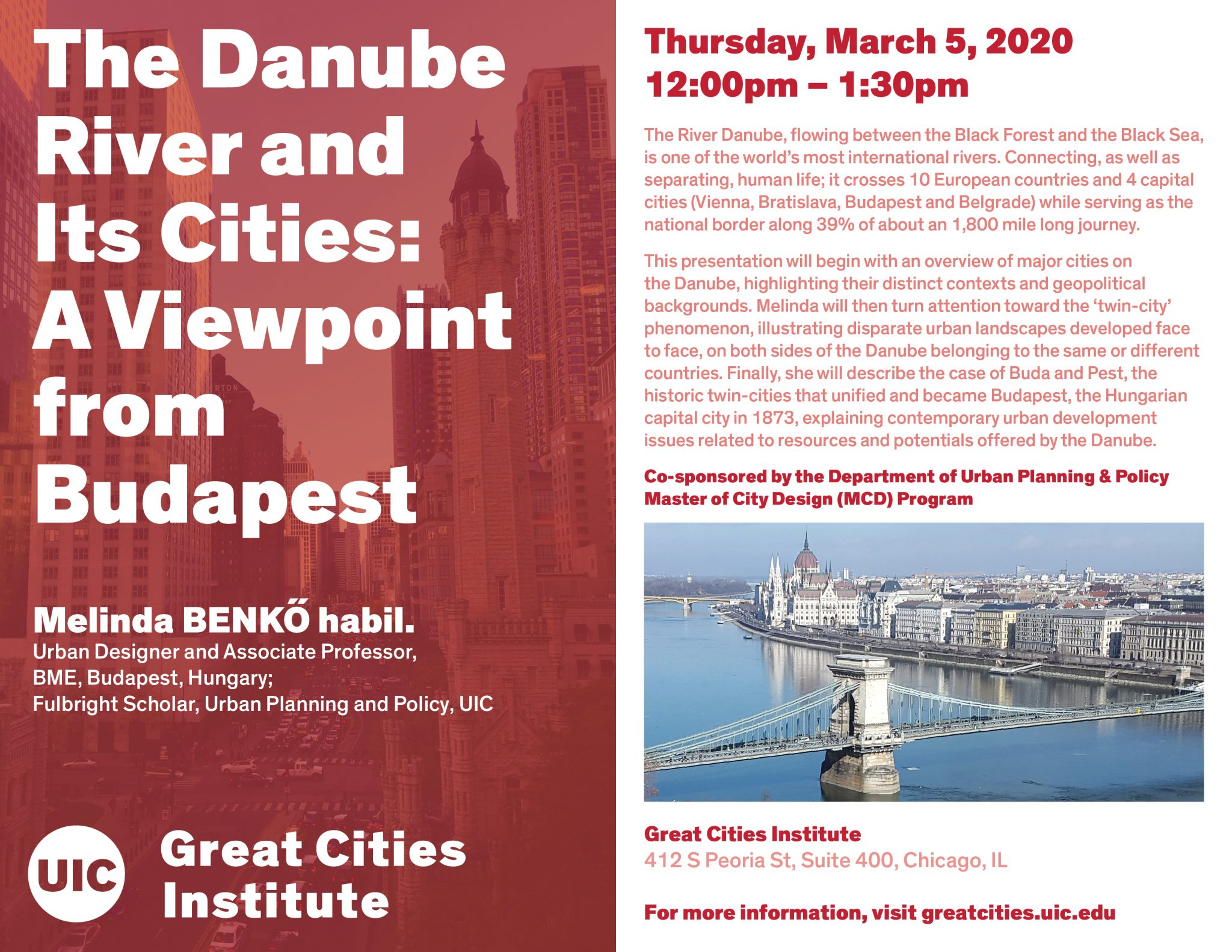 The Danube River And Its Cities A Viewpoint From Budapest Uic Today